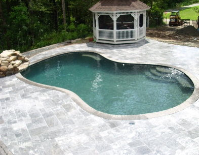Swimming Pool Deck, Marion MA.